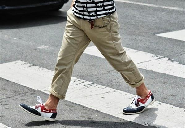 мужские ботинки boat shoes
