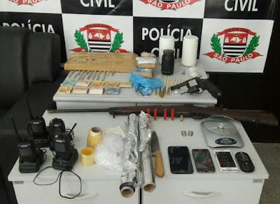 OPERAÇÃO FELIZ ANO VELHO REALIZADA PELA DISE JACUPIRANGA DESARTICULA ORGANIZAÇÃO CRIMINOSA EM CAJATI