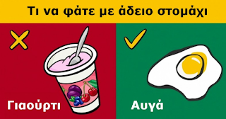 10 Φαγητά που Απαγορεύεται να Καταναλώσετε με άδειο Στομάχι (και 10 που Επιτρέπεται!)