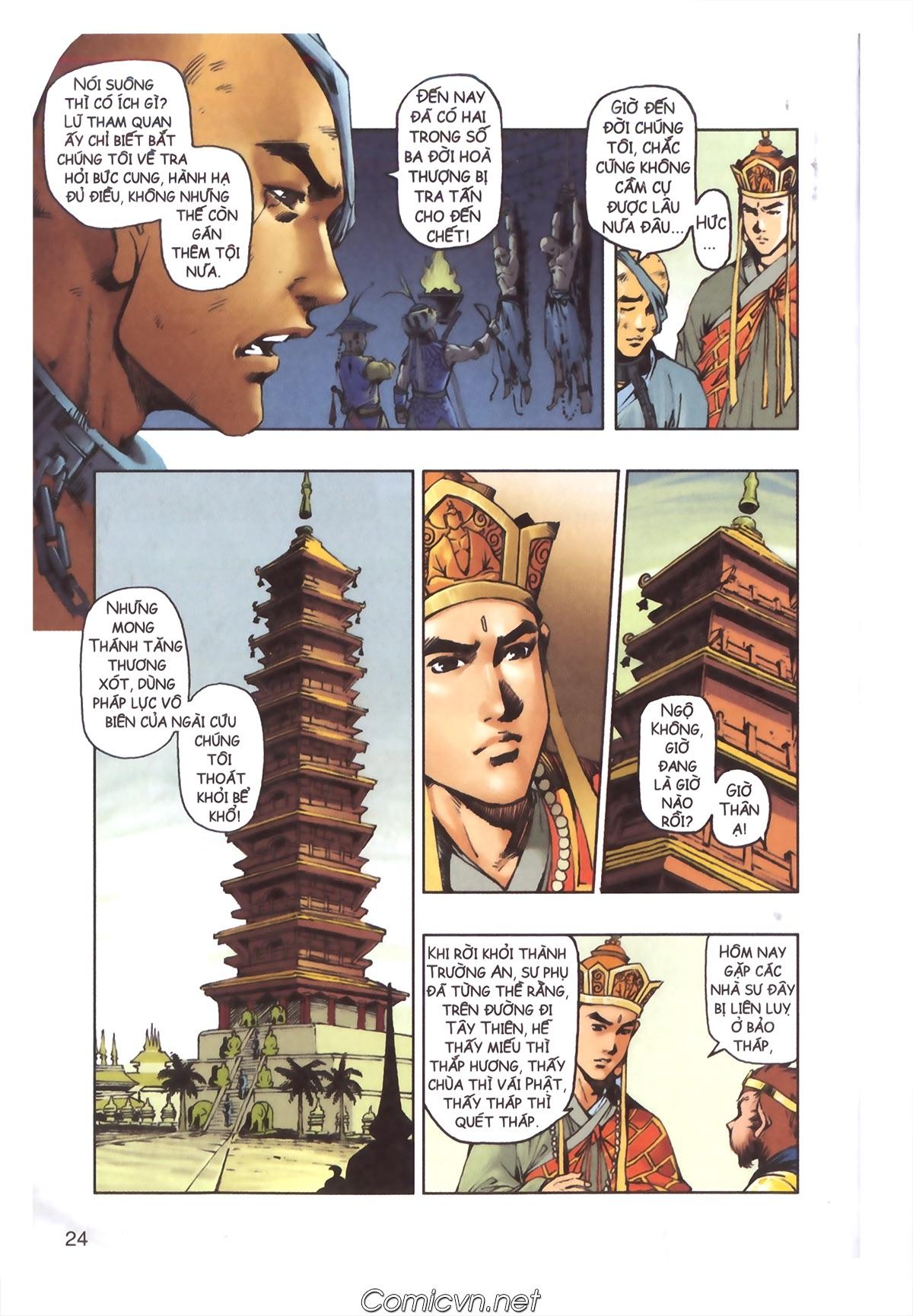 Tây Du Ký màu - Chapter 110 - Pic 22