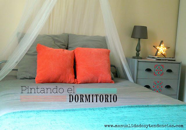 Dormitorio pintado con pintura ecológica