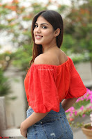 Rhea Chakraborty in Red Crop Top and Denim Shorts Spicy Pics ~  Exclusive 197.JPG