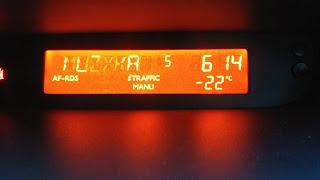 -22 C w samochodzie
