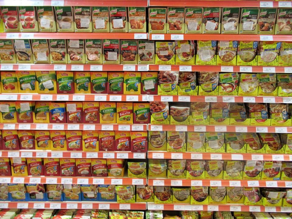 Martin Brookes Oakham Rutland England: Europol Supermarket