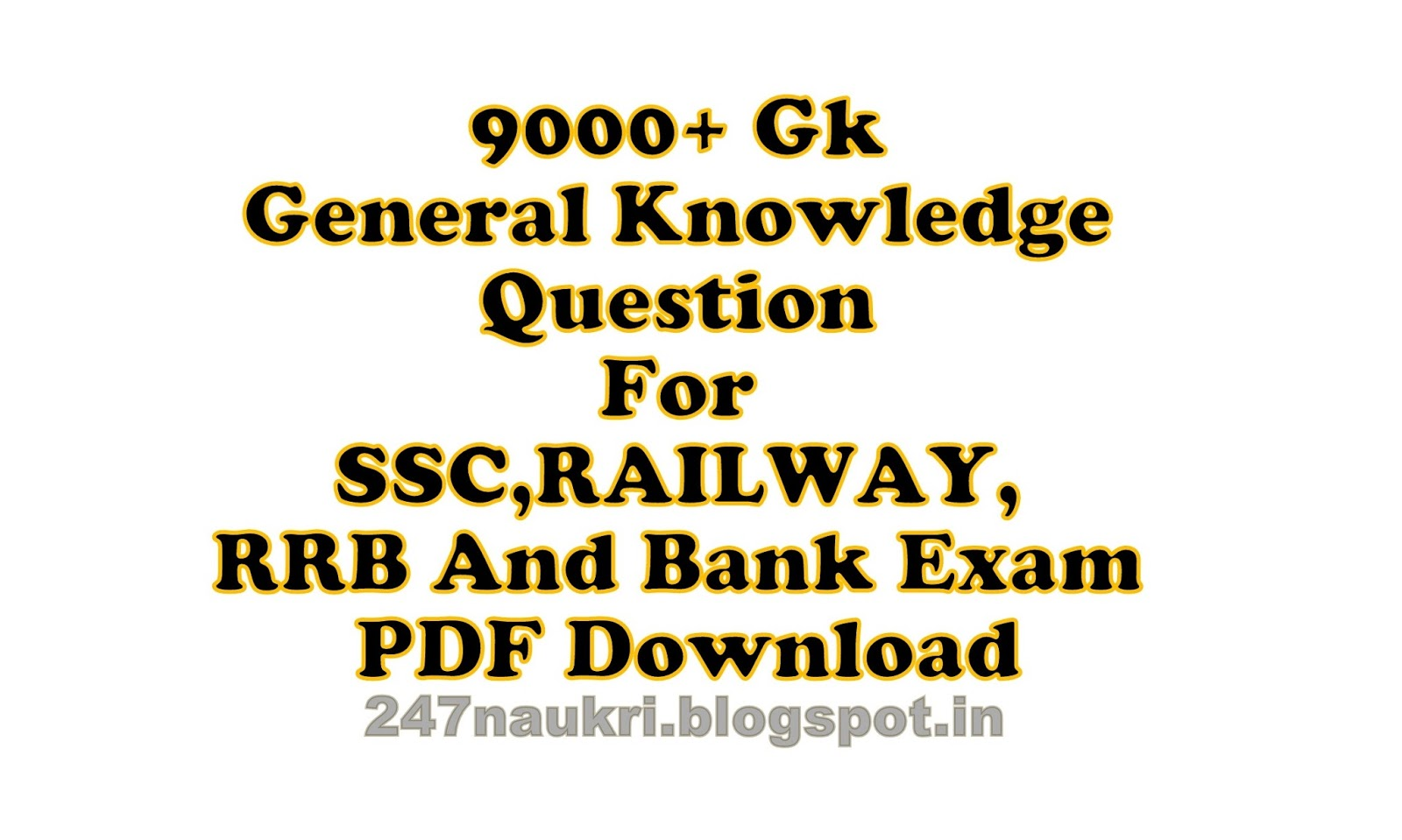 Get Free SSC General Knowledge & Current Affairs GK Books Download In PDF