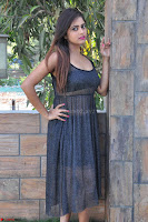Pragya Nayan New Fresh Telugu Actress Stunning Transparent Black Deep neck Dress ~  Exclusive Galleries 021.jpg