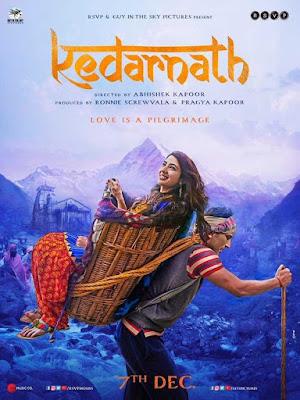 Poster Kedarnath 2018 Hindi HD 720p
