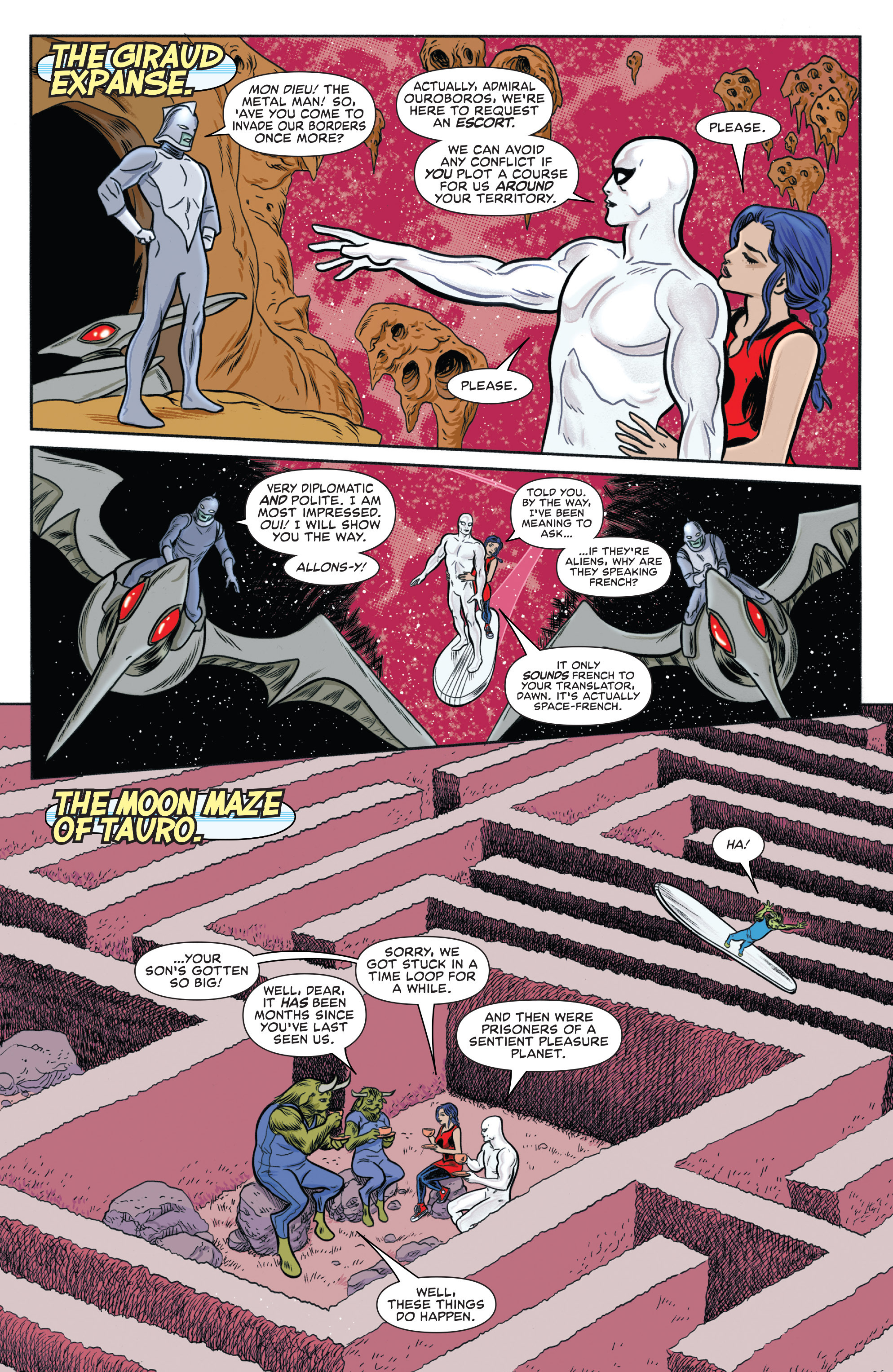 Read online Silver Surfer (2014) comic -  Issue #13 - 5