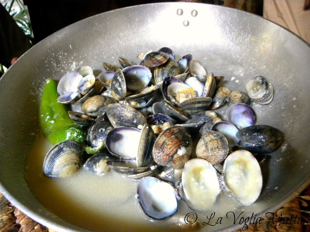 "Chioggia Ristorante ""Jackie to night"" vongole"