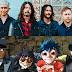 Foo Fighters e Gorillaz farão shows no Brasil em 2018, diz jornal
