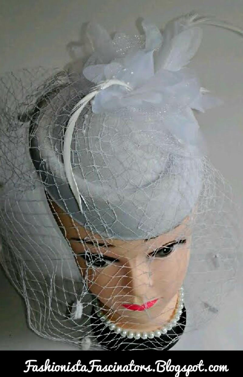 White Fascinator Hats For In Kenya