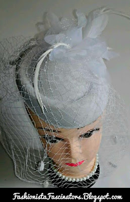 White fascinator hats for sale in Kenya