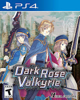 Dark Rose Valkyrie Game Cover PS4