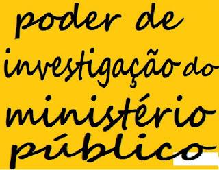 poder de investigação do ministério público