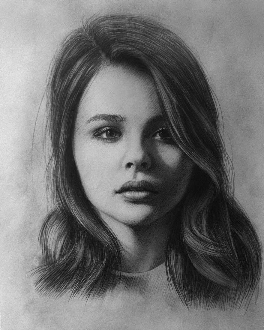 04-Chloe-Moretz-Berikuly-Erkin-Very-Expressive-Realistic-Portraits-www-designstack-co