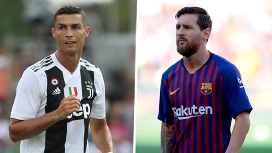 Juventus Cristiano Ronaldo And Barcelona Lionel Messi