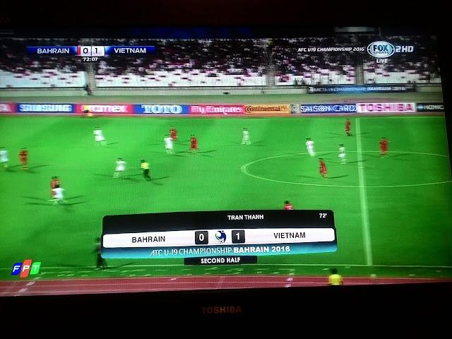 Khoảnh khắc Trần Thành ghi bàn đưa U19 Việt Nam đoạt vé đi World Cup U20 Thế Giới