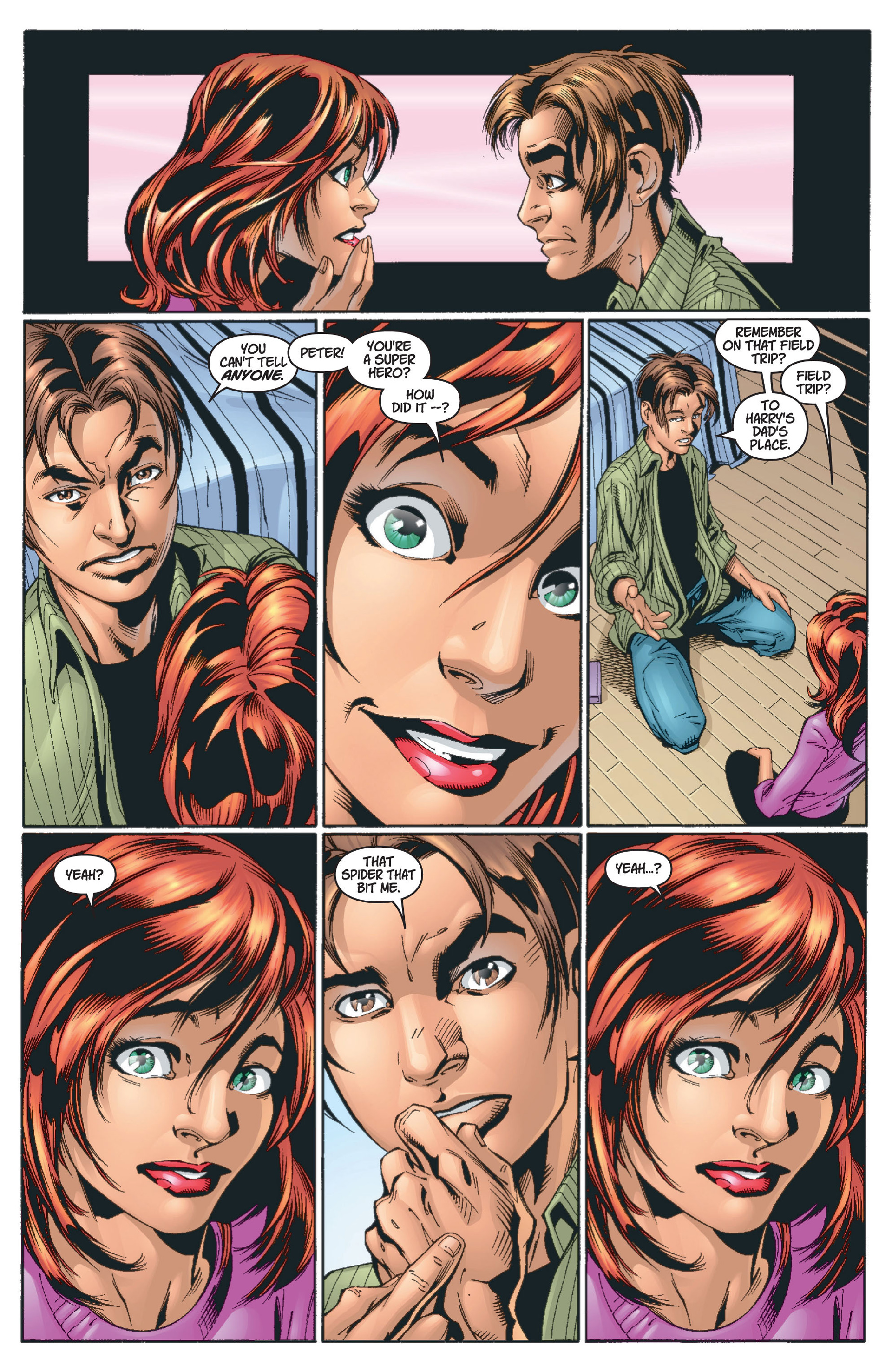 Read online Ultimate Spider-Man (2000) comic -  Issue #13 - 11