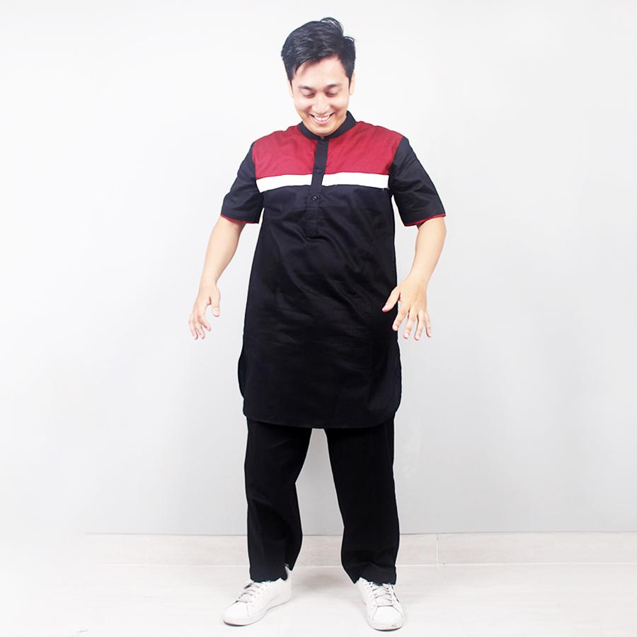 [10 Warna] Baju Koko Lengan Panjang Model Terbaru 2016
