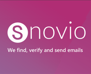 SNOVIO Review - How to Find Emails with the Best Email Lookup Tool