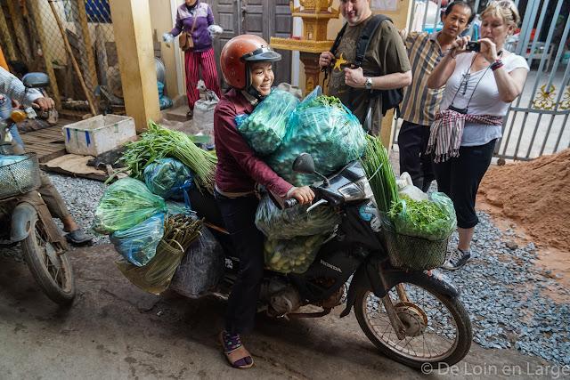 Marche de Phsar Leu - Siem Reap - Cambodge