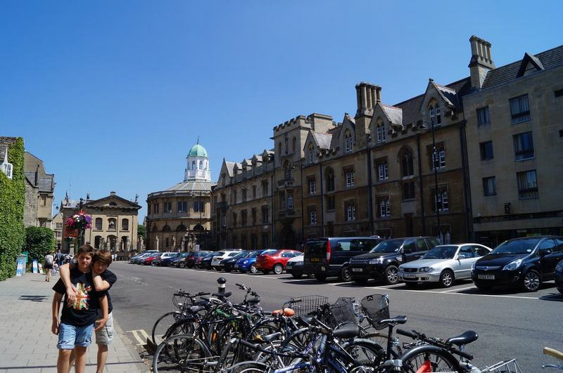 Sheldonian Theatre, primer edificio de sir Christopher Wren