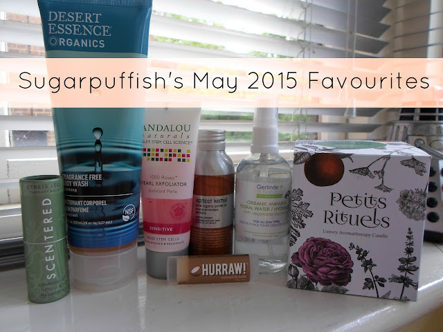 Sugarpuffish's Favourites May 2015 Natural Organic Skincare