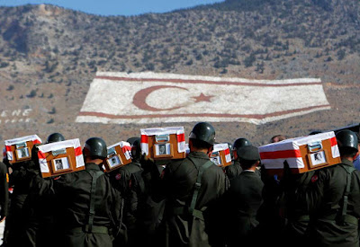 33 Missing Turkish Cypriots Laid To Rest After Four Decades