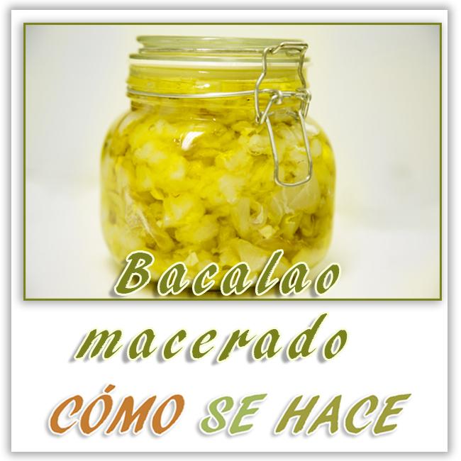 BACALAO MACERAD...