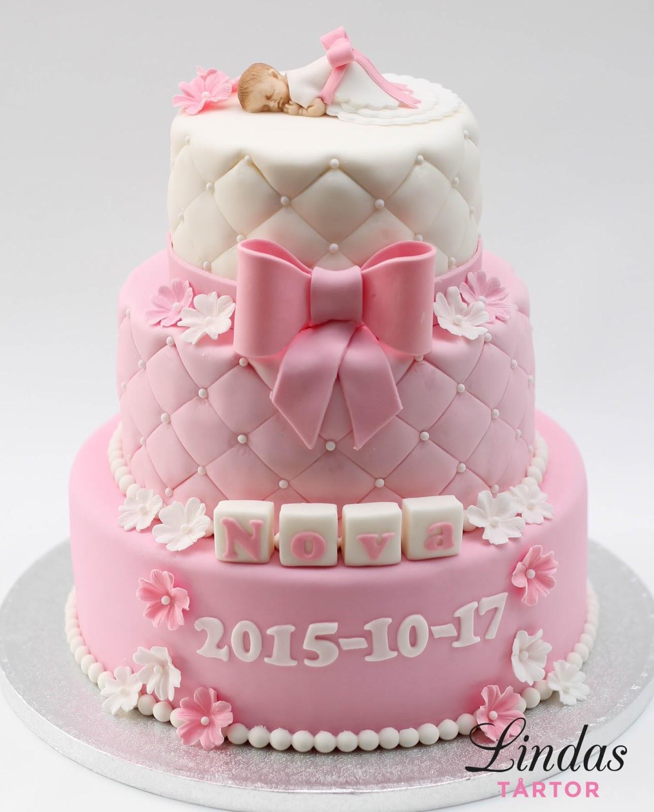 tårta till dop