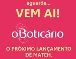 Cadastrar Promoção O Boticário Nova Máscrar Match SOS Resconstrução