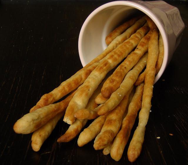grissini Włoskie paluszki grissini