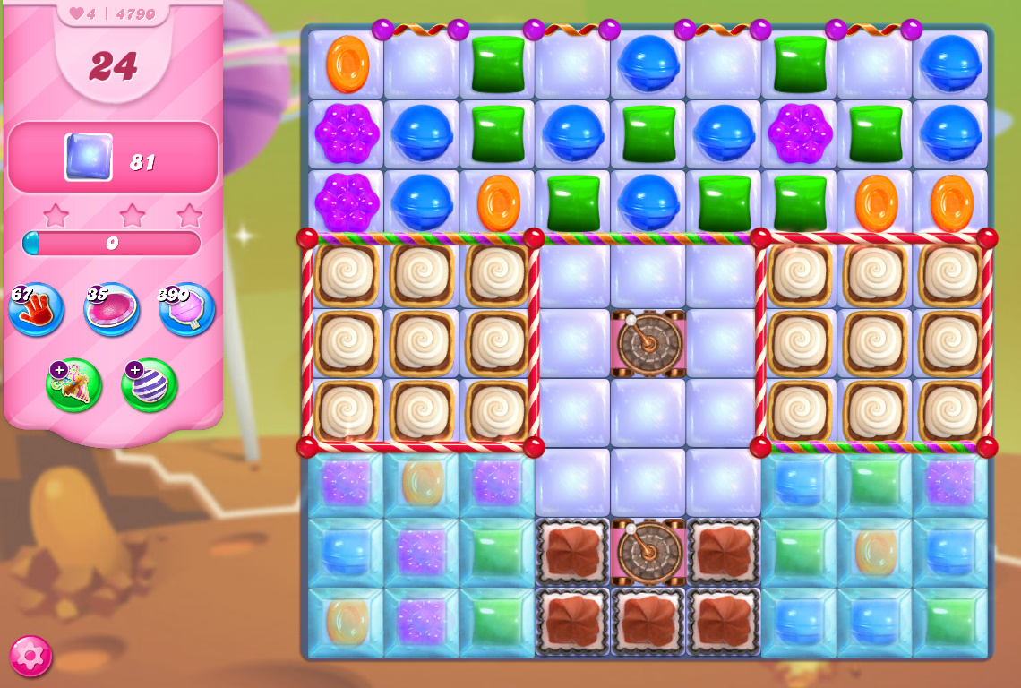 Candy Crush Saga level 4790