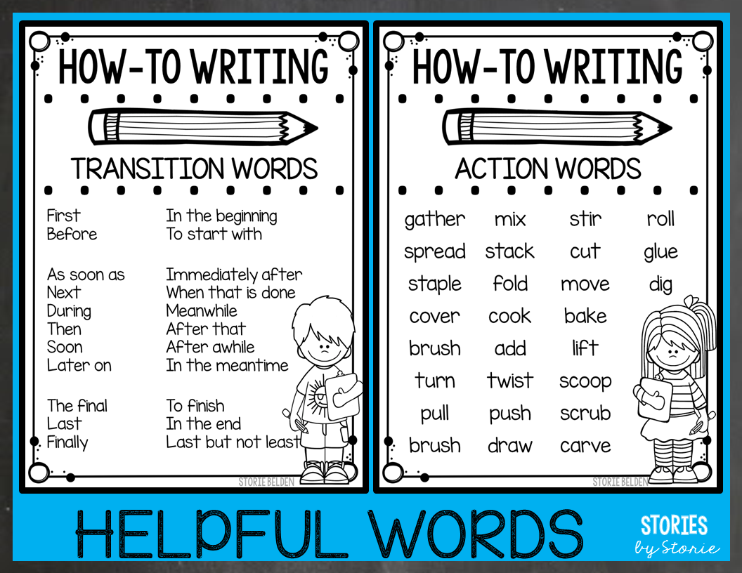 hight resolution of How-To Writing for 2nd Graders - Ideas and Resources
