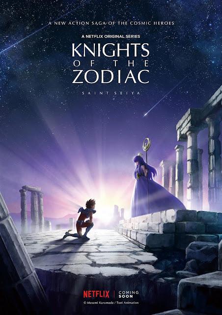 Knights of the Zodiac - Saint Seiya Netflix anuncia produção de novo anime