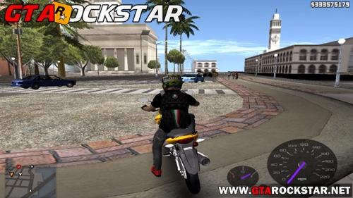 Mod Trabalhar como Moto Táxi para GTA San Andreas