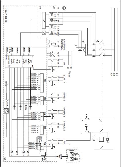 wiring relay proteksi