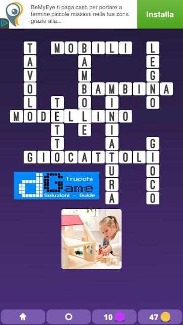 Soluzioni One Clue Crossword livello 28 schemi 1 - 15 (Cruciverba illustrato)  | Parole e foto