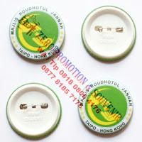 Souvenir pin 1 sisi glossy, Pin Peniti 1 muka, Souvenir Pin Peniti