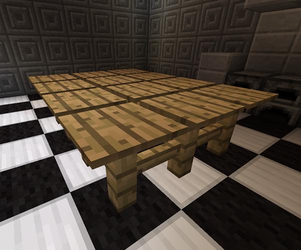 Furniture minecraft mod kitchen furniture kitchen table watchthetrailerfo
