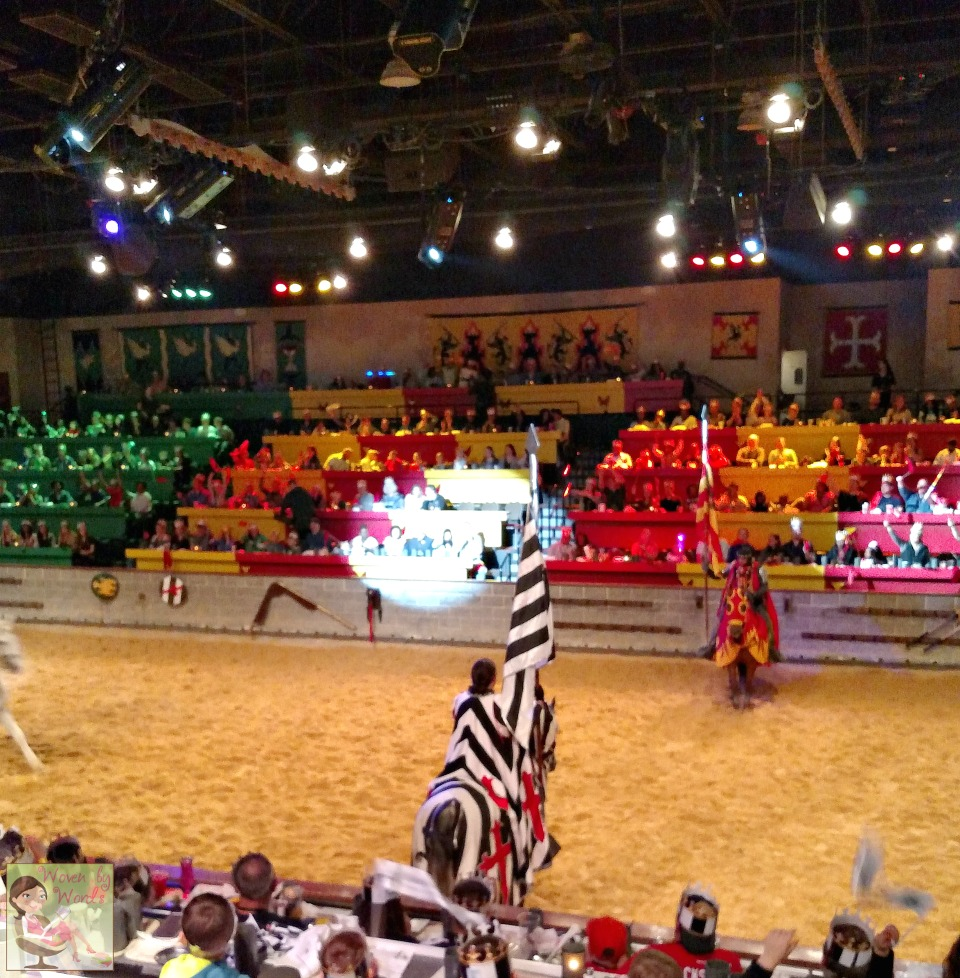 woven by words medieval times dinner u0026 tournament for spring break