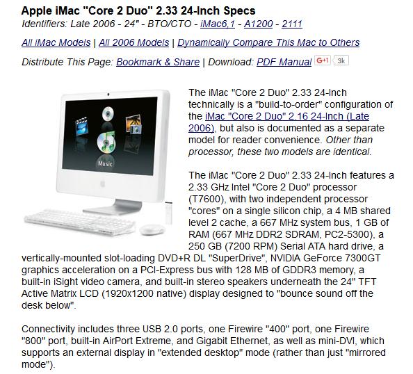 "Apple iMac 24/"" A1200 2006 PSU Power Supply Screw Set Mounting Screws"