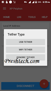 How To Tether the Glo 0.0K Browsing Via Hotspot With XP Psiphon
