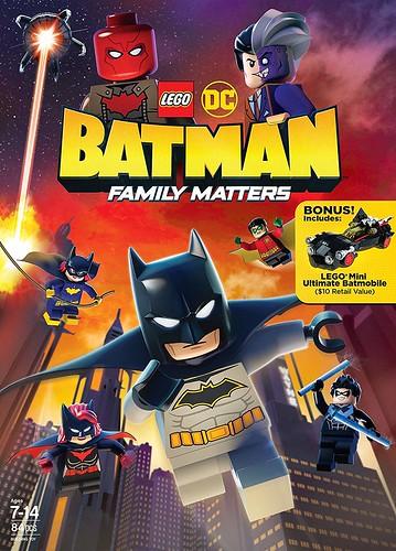 Lego DC Batman: Qeshtjet Familjare  (Lego DC Batman: Family Matters) Dubluar ne shqip