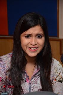 Actress Mannara Chopra Latest Pictures with Jakkanna Team at Radio City  0001.JPG