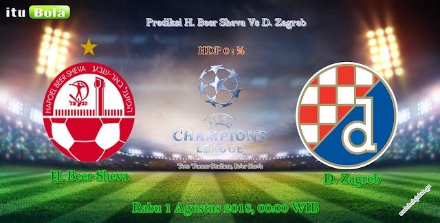 Prediksi H. Beer Sheva Vs D. Zagreb - ituBola