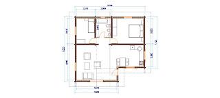Progetti di case in legno casa 80 mq for Progetto casa 40 mq
