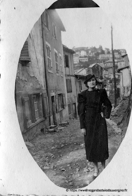Photo ancienne, noir et blanc, Thiers.Puy-de-Dôme.