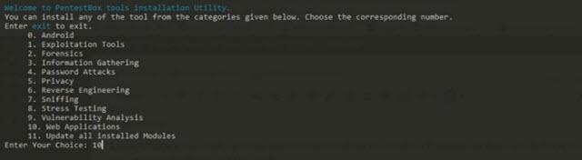 كيفية تثبيت أدوات كالي لينكس في جهاز الكمبيوتر بنظام ويندوز