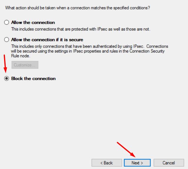 Cara Memblokir Akses Internet Aplikasi Windows 10 Tanpa Aplikasi Pihak Ketiga 12